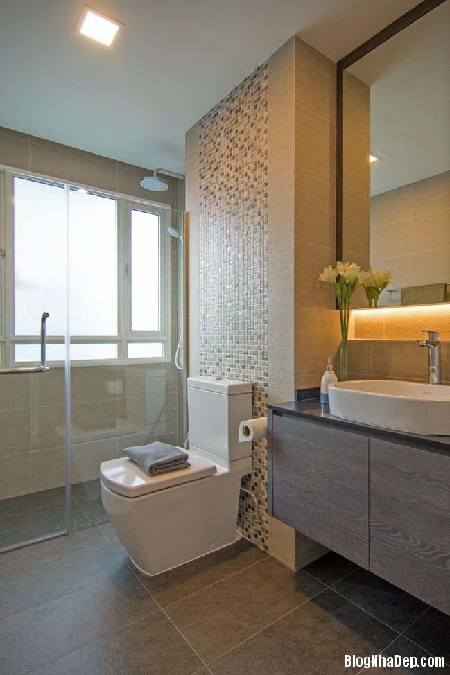 mau thiet ke can ho chung cu 42m2 11 Mẫu thiết kế cực đẹp cho căn hộ chung cư 42m2