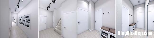 mau thiet ke nha pho dep 031 Mẫu nội thất nhà phố cực đẹp với tông màu sáng trang nhã