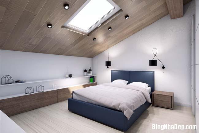 mau thiet ke nha pho dep 16 Mẫu nội thất nhà phố cực đẹp với tông màu sáng trang nhã