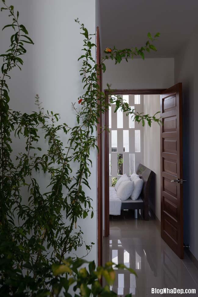 mau nha pho dep 11 Mẫu nhà phố đẹp 4 tầng mang tên là Kính Vạn Hoa
