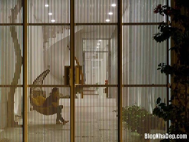 mau nha pho dep 13 Mẫu nhà phố đẹp 4 tầng mang tên là Kính Vạn Hoa
