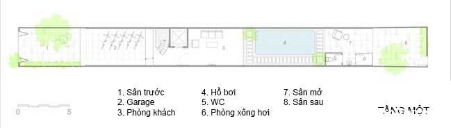 mau nha pho dep 15 Mẫu nhà phố đẹp 4 tầng mang tên là Kính Vạn Hoa