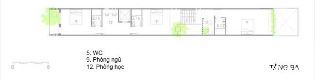 mau nha pho dep 17 Mẫu nhà phố đẹp 4 tầng mang tên là Kính Vạn Hoa