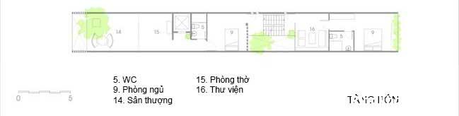 mau nha pho dep 18 Mẫu nhà phố đẹp 4 tầng mang tên là Kính Vạn Hoa