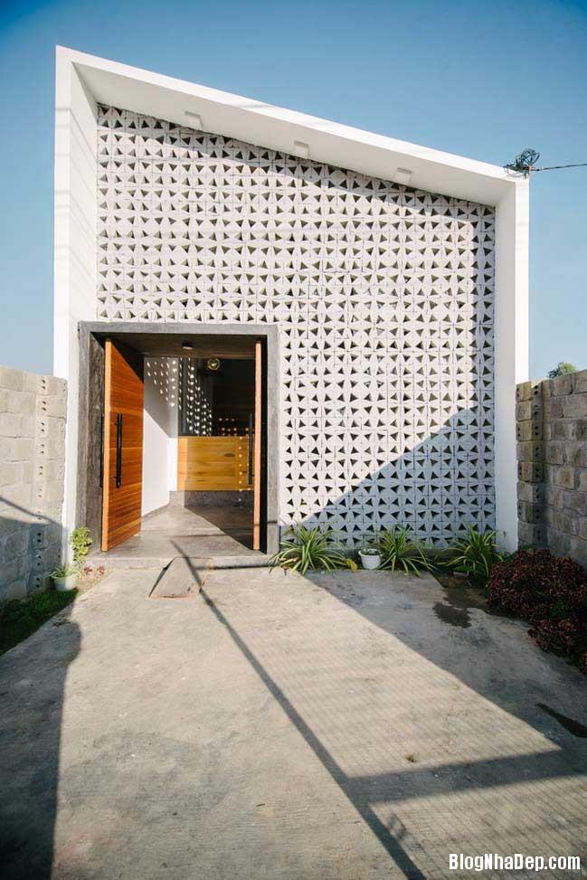 nha dep 1 tang 01 Mẫu thiết kế nhà đẹp 1 tầng ngập tràn ánh sáng lung linh