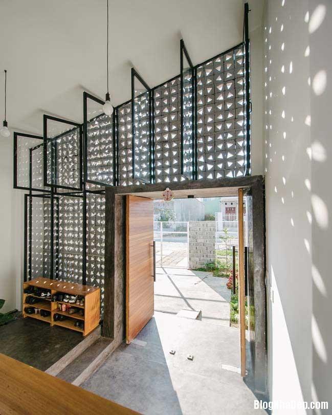 nha dep 1 tang 02 Mẫu thiết kế nhà đẹp 1 tầng ngập tràn ánh sáng lung linh