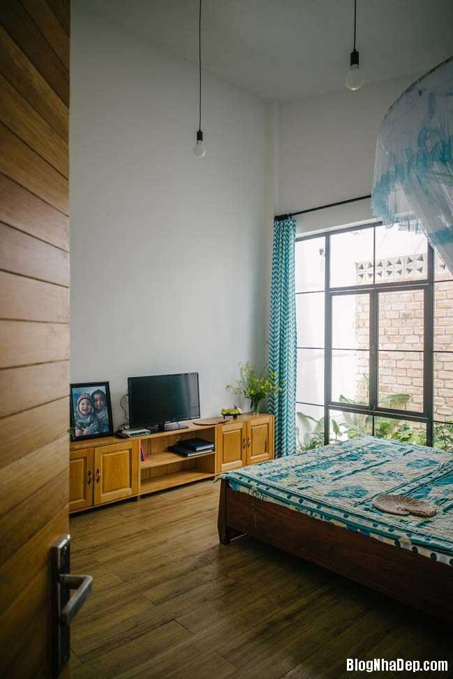nha dep 1 tang 07 Mẫu thiết kế nhà đẹp 1 tầng ngập tràn ánh sáng lung linh
