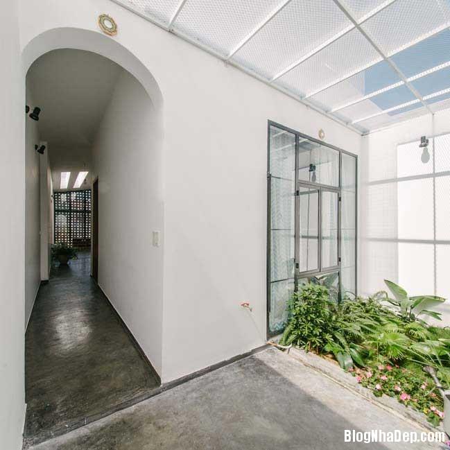 nha dep 1 tang 09 Mẫu thiết kế nhà đẹp 1 tầng ngập tràn ánh sáng lung linh