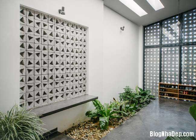 nha dep 1 tang 10 Mẫu thiết kế nhà đẹp 1 tầng ngập tràn ánh sáng lung linh