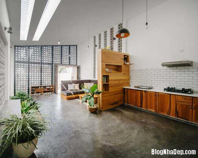nha dep 1 tang 12 Mẫu thiết kế nhà đẹp 1 tầng ngập tràn ánh sáng lung linh