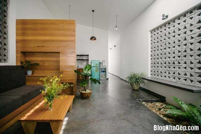nha dep 1 tang 13 Mẫu thiết kế nhà đẹp 1 tầng ngập tràn ánh sáng lung linh