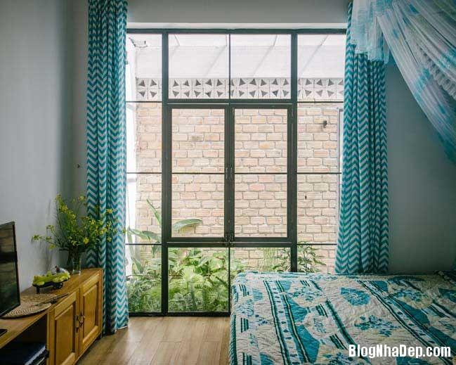 nha dep 1 tang 18 Mẫu thiết kế nhà đẹp 1 tầng ngập tràn ánh sáng lung linh