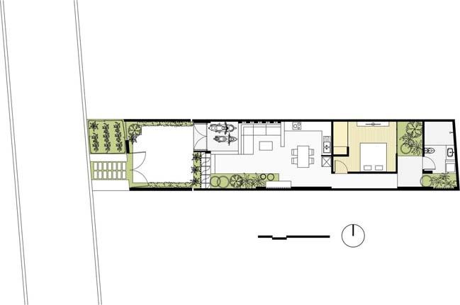 nha dep 1 tang 19 Mẫu thiết kế nhà đẹp 1 tầng ngập tràn ánh sáng lung linh