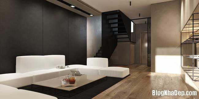 mau nha pho dep voi thiet ke hien dai 03 Nhà phố đẹp với thiết kế nội thất rất hiện đại ấm cúng
