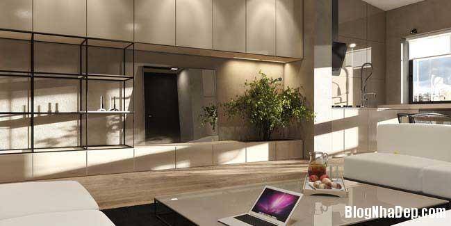 mau nha pho dep voi thiet ke hien dai 04 Nhà phố đẹp với thiết kế nội thất rất hiện đại ấm cúng