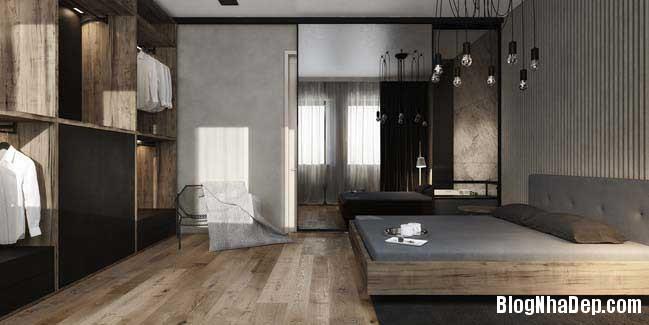 mau nha pho dep voi thiet ke hien dai 11 Nhà phố đẹp với thiết kế nội thất rất hiện đại ấm cúng