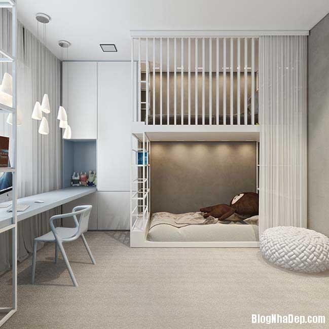 mau nha pho dep voi thiet ke hien dai 17 Nhà phố đẹp với thiết kế nội thất rất hiện đại ấm cúng