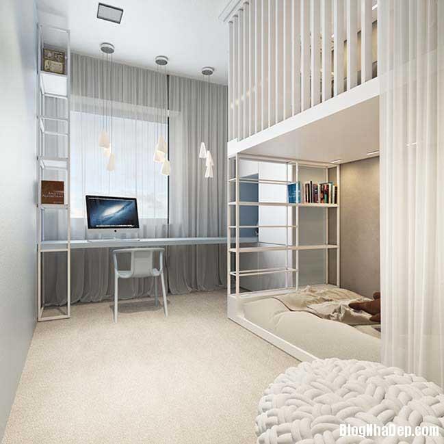 mau nha pho dep voi thiet ke hien dai 18 Nhà phố đẹp với thiết kế nội thất rất hiện đại ấm cúng