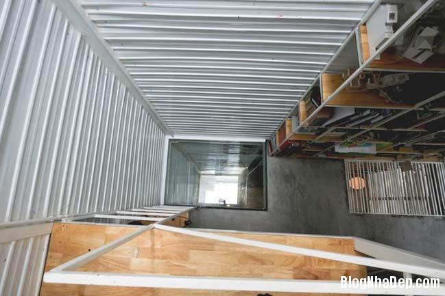 mau nha pho nho dep 10m2 12 Biến ngôi nhà phố nhỏ hẹp thành văn phòng ngập tràn ánh sáng
