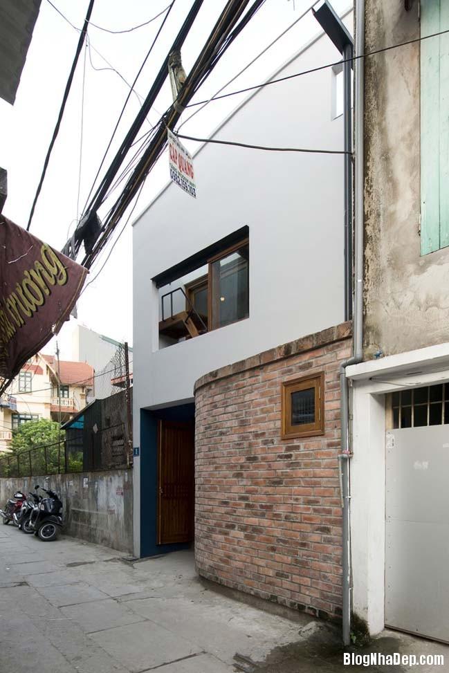 nha pho dep 011 Cải tạo mẫu nhà phố đẹp với thiết kế rất thông thoáng