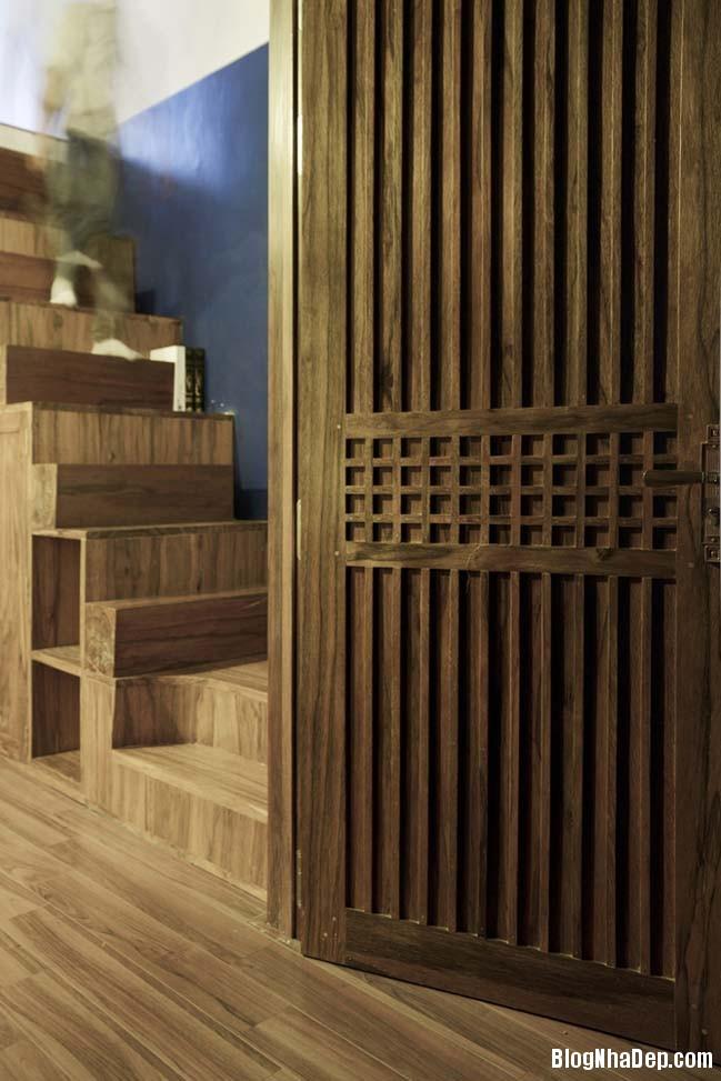nha pho dep 041 Cải tạo mẫu nhà phố đẹp với thiết kế rất thông thoáng