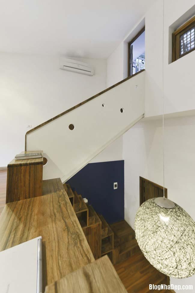 nha pho dep 051 Cải tạo mẫu nhà phố đẹp với thiết kế rất thông thoáng
