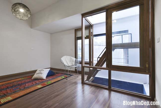 nha pho dep 061 Cải tạo mẫu nhà phố đẹp với thiết kế rất thông thoáng