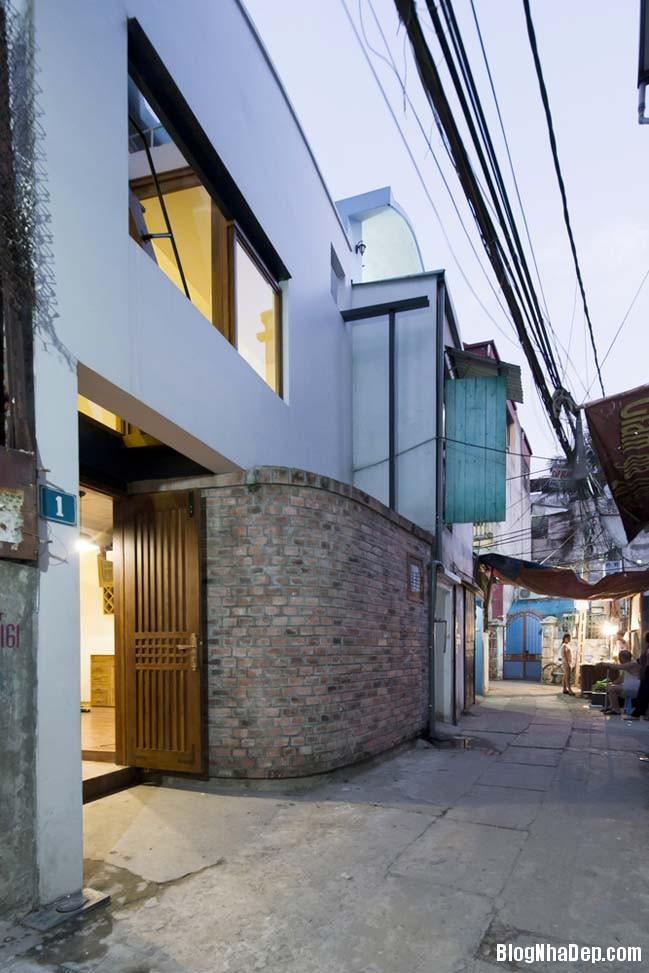 nha pho dep 121 Cải tạo mẫu nhà phố đẹp với thiết kế rất thông thoáng