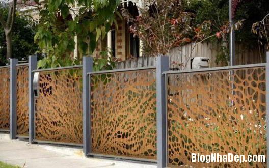 18 ROJX Những mẫu hàng rào khiến ngôi nhà của bạn đẹp như tranh vẽ