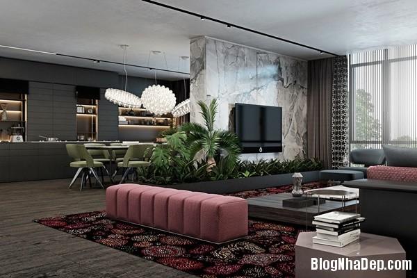 su dung mau nhan tinh te cho khong gian trung tinh 01 Tham khảo cách phối màu dành cho nội thất chung cư hiện đại