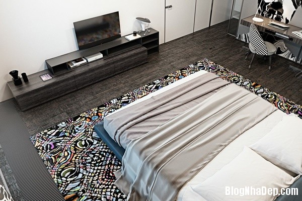su dung mau nhan tinh te cho khong gian trung tinh 16 Tham khảo cách phối màu dành cho nội thất chung cư hiện đại