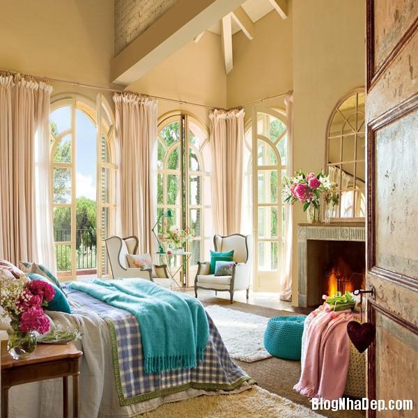 phong ngu co tich 1 Những phòng ngủ ngọt ngào như bước ra từ truyện cổ tích