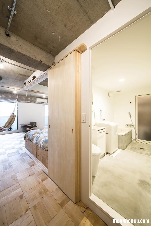 c51 Căn hộ nhỏ xinh hiện đại theo phong cách tối giản ở Nhật Bản