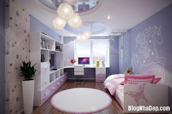 eb6bb5e094e6347dda47a99908db9efa Căn phòng ngủ đẹp mơ màng cho các nàng teen