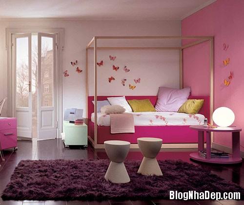 f1cadd2afd4f820e877fcd75fbec9c54 Chắc chắn bé cưng sẽ vô cùng thích thú trước những mẫu phòng ngủ đầy sắc màu như thế này