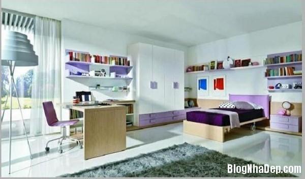 14286df28fe905047a4182d8774adf91 Phòng cho con nhộn nhịp với các sắc màu