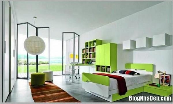 2abd51dcfd6411c54f65c39c4b5a2601 Phòng cho con nhộn nhịp với các sắc màu