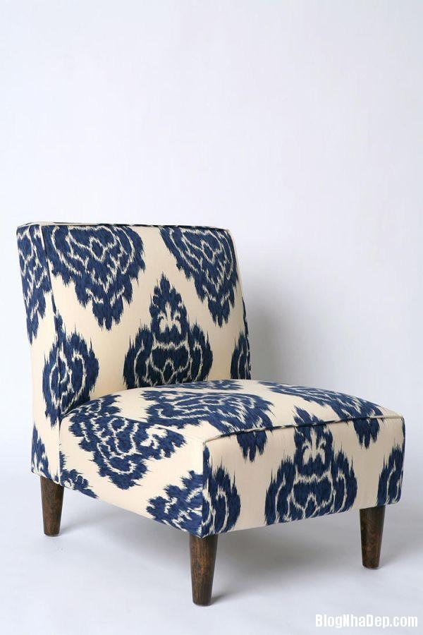 nha dep hon nho ghe boc da in hoa tiet 003 Những mẫu ghế da họa tiết sang trọng cho không gian phòng khách