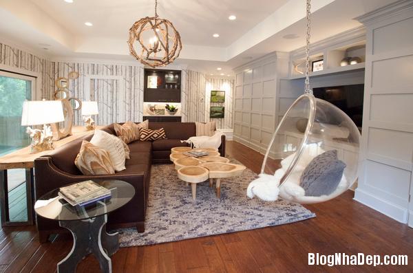 ghe treo 6 Bài trí ghế treo bong bóng cho không gian phòng khách thêm lãng mạn