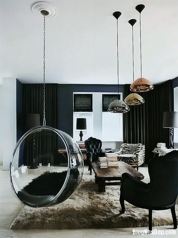 ghe treo 9 Bài trí ghế treo bong bóng cho không gian phòng khách thêm lãng mạn