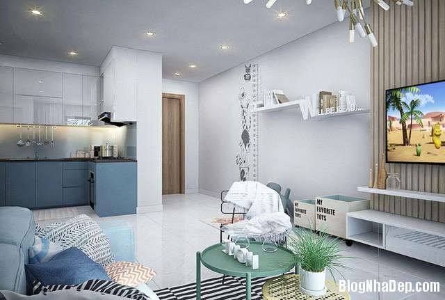 27 Thiết kế căn hộ 82 m2 thoáng mát cho gia đình trẻ ở Sài Gòn