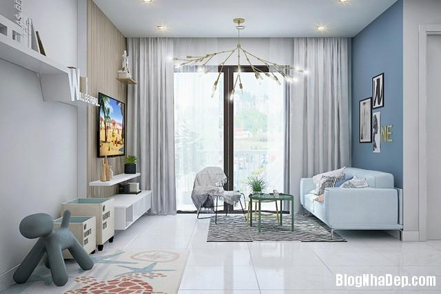 47 Thiết kế căn hộ 82 m2 thoáng mát cho gia đình trẻ ở Sài Gòn
