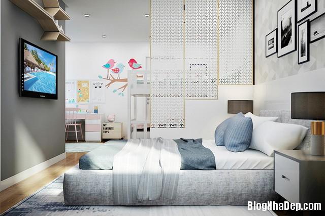 56 Thiết kế căn hộ 82 m2 thoáng mát cho gia đình trẻ ở Sài Gòn