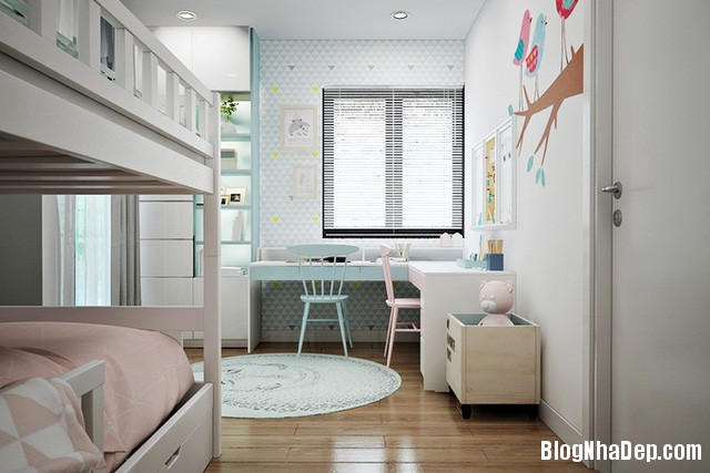 87 Thiết kế căn hộ 82 m2 thoáng mát cho gia đình trẻ ở Sài Gòn