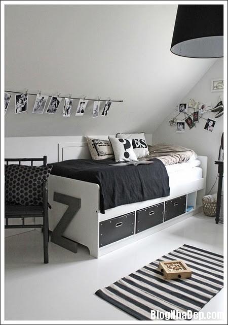 faf460feeba6a55ae67b3d56970b0c78 Trang trí phòng trẻ em đẹp mắt với hai gam màu đen và trắng