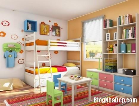 178cc3ecbdf75ea6b822876b4ee7fb99 Trang trí sắc màu tươi sáng cho phòng ngủ của thiên thần
