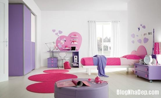 47205e2a6b6a4eb35cc873179c7defc5 Trang trí sắc màu tươi sáng cho phòng ngủ của thiên thần
