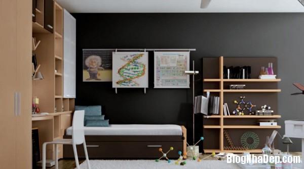b6b4df8052f6177e446e4243eb07b80f Mang hơi hướng thiết kế hiện đại vào phòng của bé