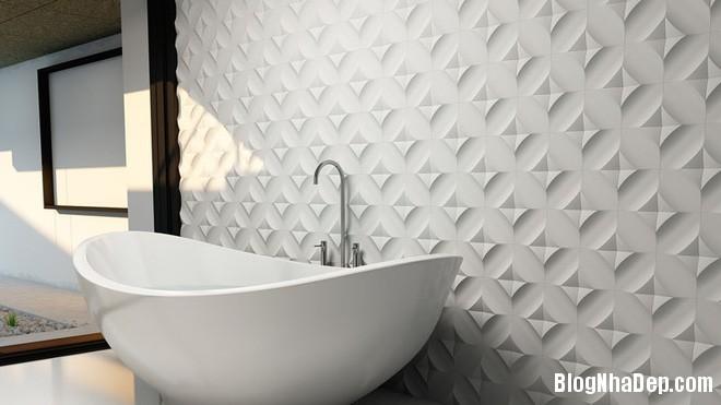 img20170614085132578 Sáng bừng không gian phòng tắm với gạch đá lát tường 3D
