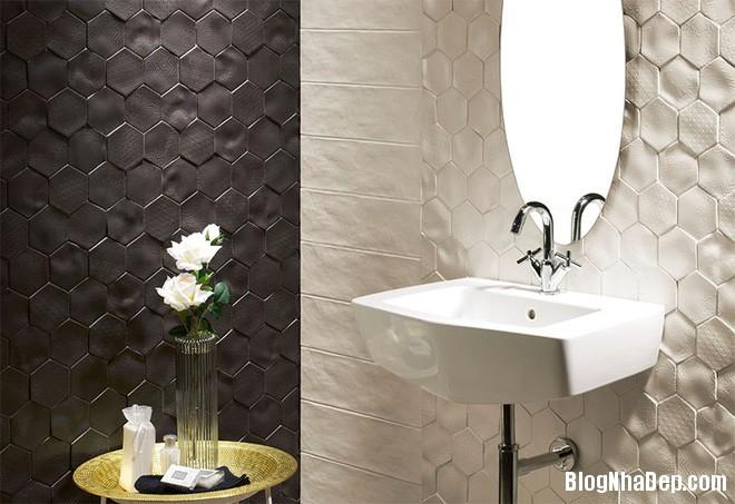 img20170614085132906 Sáng bừng không gian phòng tắm với gạch đá lát tường 3D